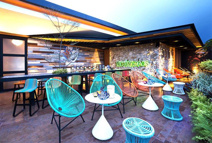 Tropical Resort Restaurant Lemongrass by Einstein & Associates - restaurant, restaurant design, restaurant decor, retail design, #restaurant