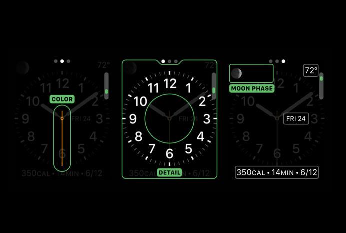 Apple Watch GUI Design #watch