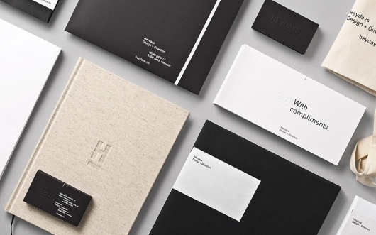 Heydays – New Work Special | September Industry #identity #collateral