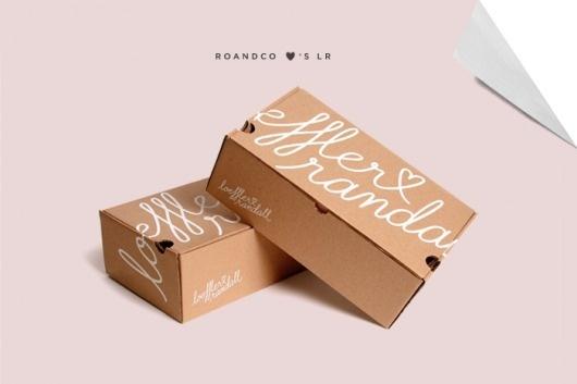 RoAndCo loves LR | RoAndCo Studio #white #cardboard #packaging #box #kraft