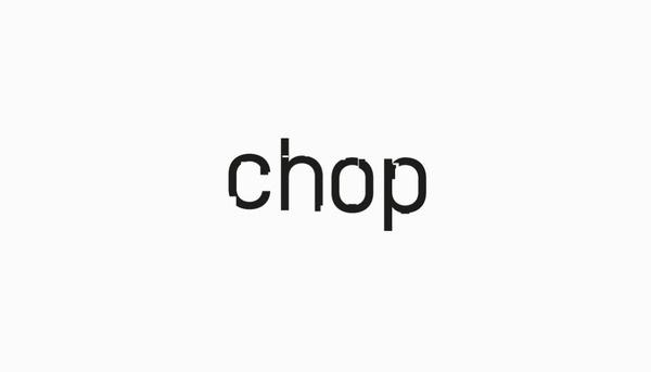 CHOP Felipe Lekich #type #typography