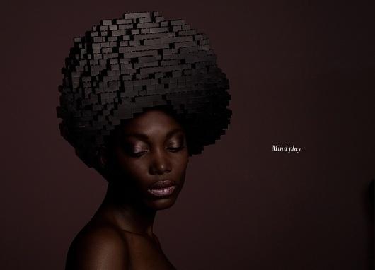 mindplay: bricks on me by elroy klee #woman #lego