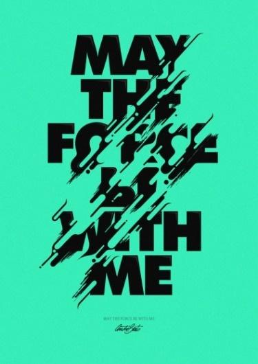 tumblr_lhaq68QeLC1qzd1nwo1_1280.png (395×558) #typography #wars #black #star #type #drip #green