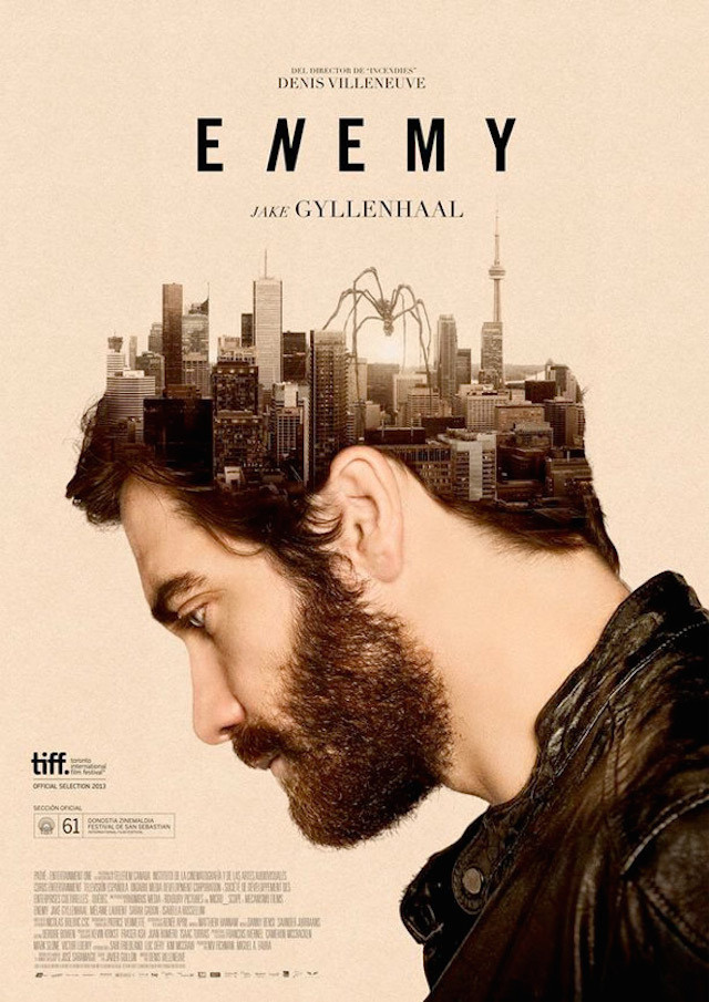 6-Enemy #movie #design #graphic #poster #film