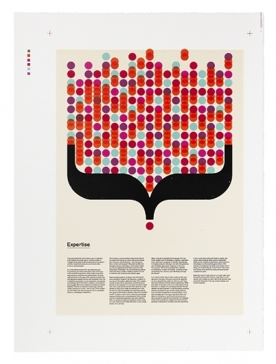 Creative Review - Stone age printing for Æsir #print #design