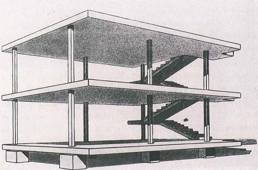 Marion von Osten, Architecture Without Architects—Another Anarchist Approach / Journal / e-flux #maison #ino #dom #structure #corbusier #architecture #le #drawing