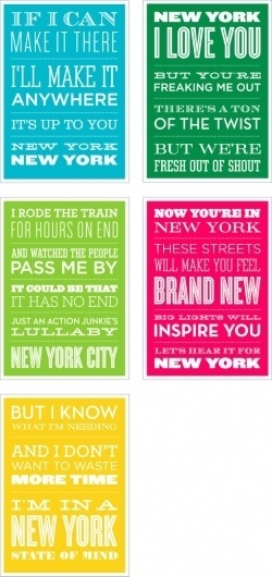 head vs. heart » #new #york #typography