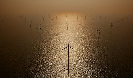 Aerial Portfolio on the Behance Network #wind #photography #future #farm