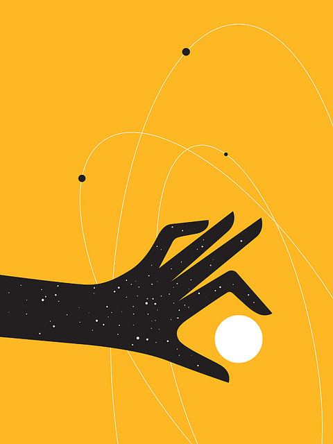 photo #hand #science #space