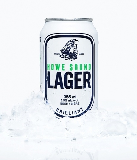 How Sound Lager : Lovely Package . Curating the very best packaging design. #beer #packaging #illustration #ship #lager