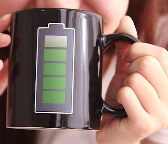 Battery Coffee Mug #gadget