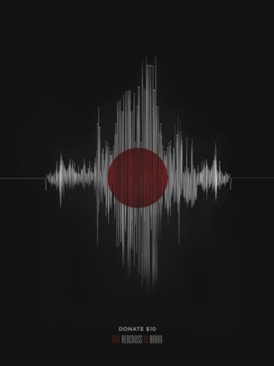 Japan RedCross Poster by Zac Neulieb