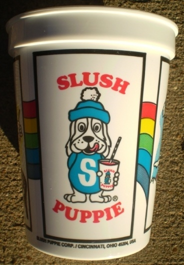All sizes | 1983 Slush Puppie Cup | Flickr - Photo Sharing! #logo #illustration #retro #vintage