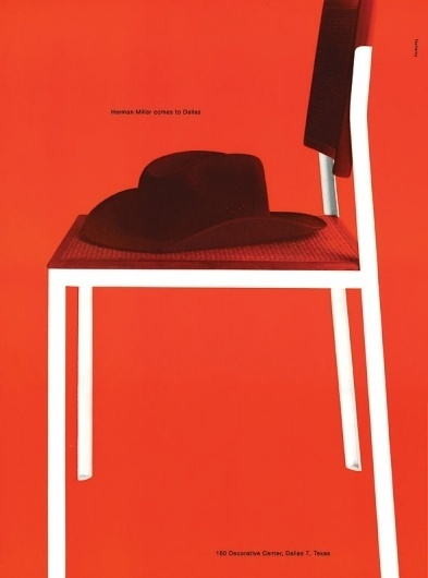 Container List: George Tscherny for Herman Miller #miller #herman #advertising