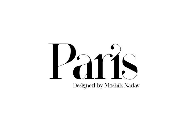 Paris Typeface New Typeface by Moshik Nadav Typography #paris #typeface #typography