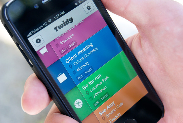 Twidy - UI/UX Mobile App Interface #ux #design #interface #ui #app #mobile #minimal