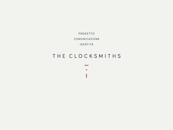 THE CLOCKSMITHS Identity on Behance #identity