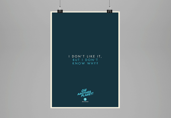 The client is always right... // Poster Collection on Behance #agency #freelance #humour #color #vibrant #client #poster #clients #love #typography
