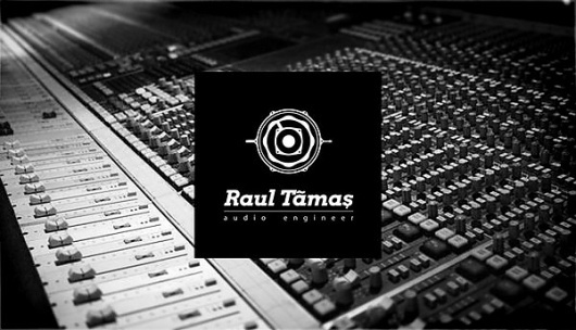 Raul Tamas - Branding on the Behance Network #vintage #logo #music #band #drums #speaker #knob #sound #audio #stick #engineer