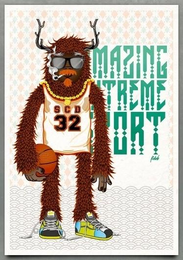 Roberto Ortiz on .Get Inspired! Magazine #print #design #character #illustration