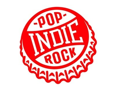Dribbble - Indie Pop Rock by Tim Frame #logo #frame #tim