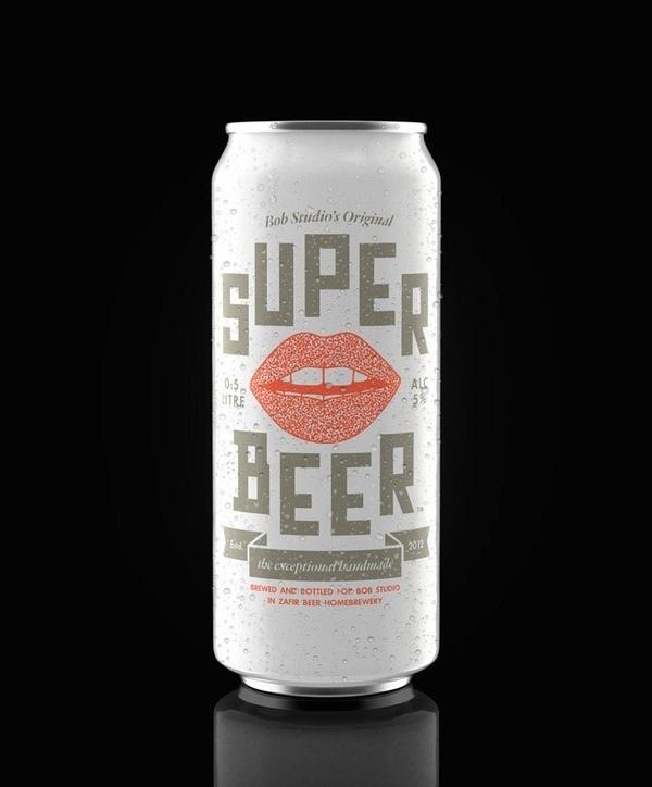 Super Beer | Beautiful Beer Labels #beer