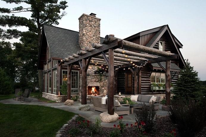 Northern Light Cabin by Rehkamp Larson Architects