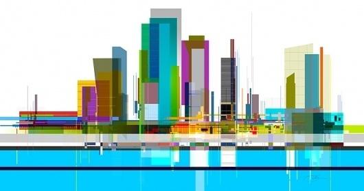 City Scape 2 #urban #city #color #skyscraper #architecture #scape #skyline