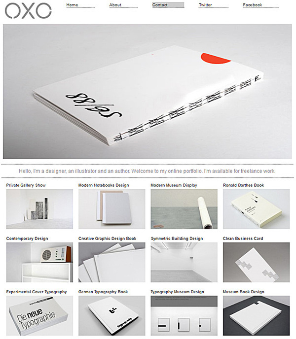 Designer Theme #designer #design #graphic #simple #grid #mobile #layout