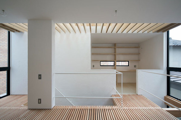 Home in Shimamoto by Container Design #interior #minimalist