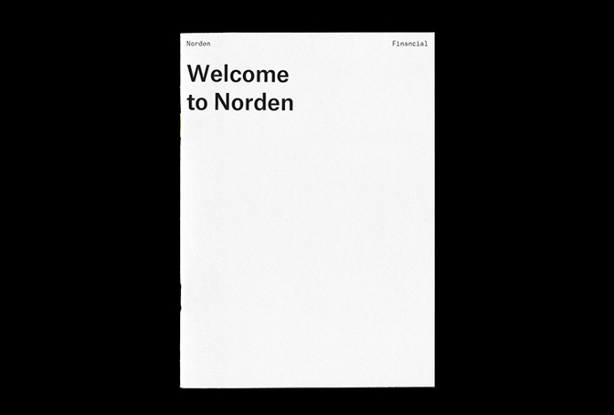 Norden by Number 04 #graphic design #monospace #print #letterhead