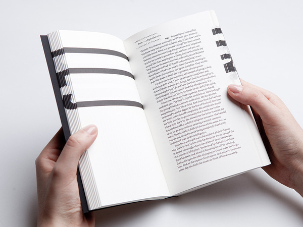Analogue Interactivity in Contemporary Book Design, book submitted and designed by Éva Valicsek(2013). Photo byNóra Dénes.–Type Onl #valicsek2013 #va #analogue #photo #submitted #design #onl #book #contemporary #interactivity #bynra #designed #type #dnes