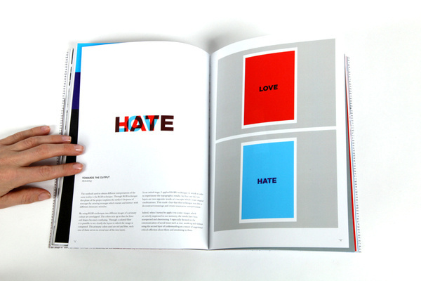 Word and Image on Editorial Design Served #type #layout #design