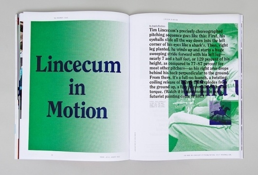 Spin — Print Magazine #motion #print #spin #baseball #editorial