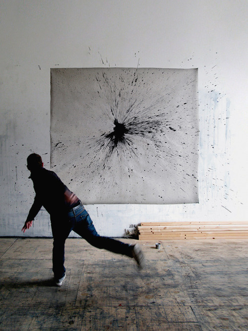 splat #paint #photography #wall