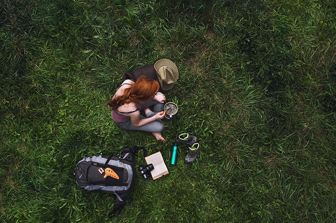 Instant Life by Florian Beaudenon   iGNANT.de #grass #photo #hair #trip #instant #ginger #life