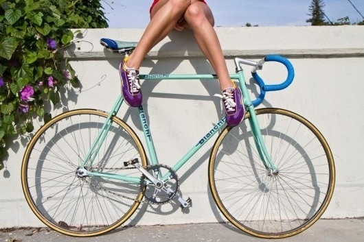 Piccsy :: Fix Girl #bianchi #bike