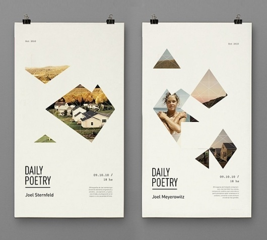 Daily Poetry on the Behance Network #design #graphic