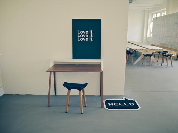 Fab.com New Berlin Office #white #black
