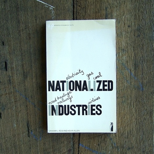 All sizes | Nationalized Industries |†#cover #type #book