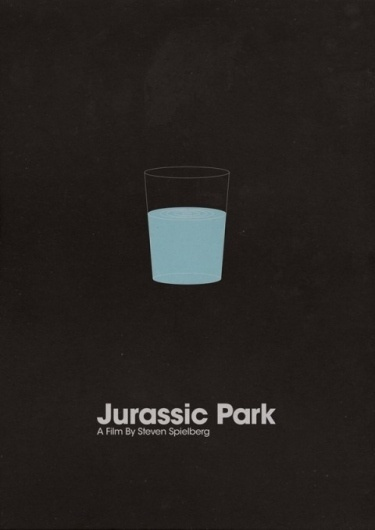 Minimalist Film Posters / Section Blog #design #minimalism #clean #poster #film #type