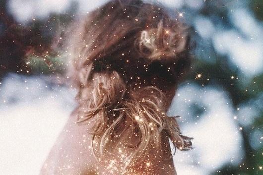 design work life » cataloging inspiration daily #sparkly #hair #photography #dreamy #lichtenstein #tamara