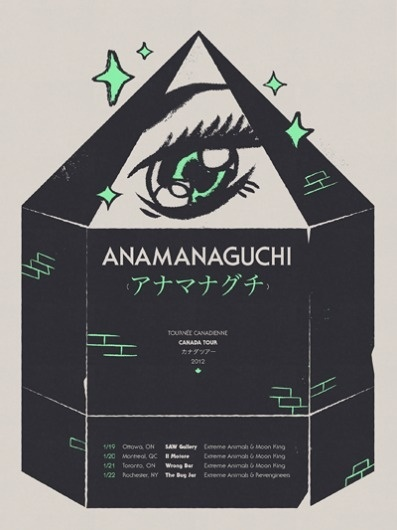 Anamanaguchi - Cory Schmitz #illustration #poster