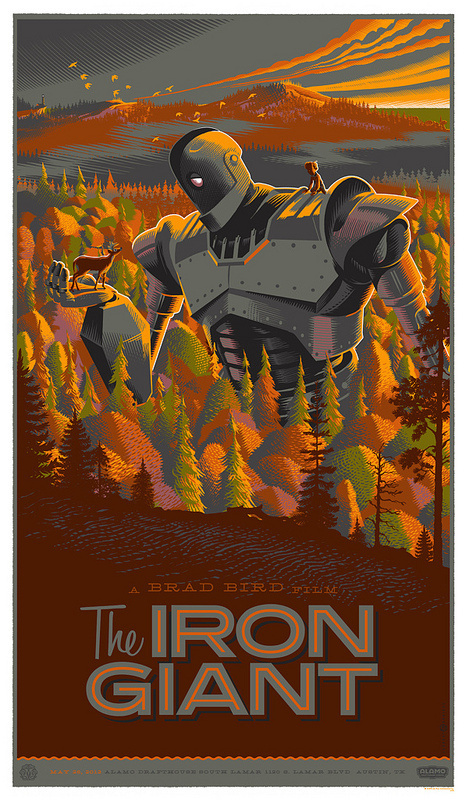 iron giant #durieux #giant #iron #poster #laurent