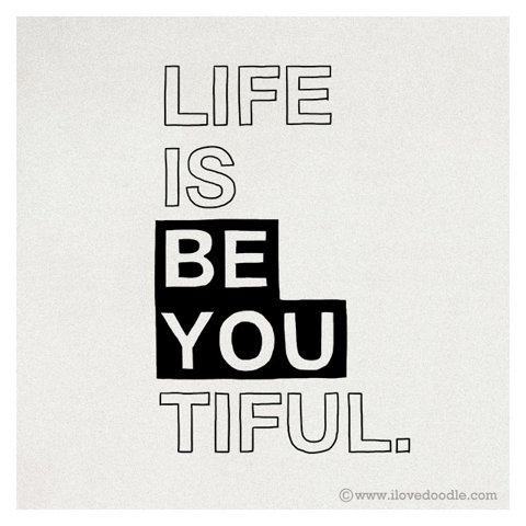 FFFFOUND! | Just be you | Flickr - Photo Sharing! #life