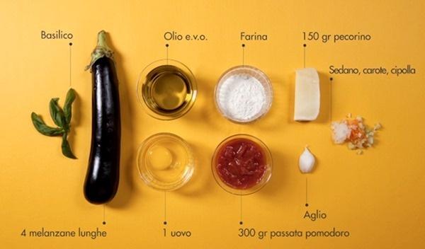 parmigiana_ingredienti #ingredients #italian #recipe #food