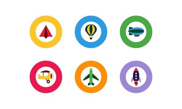 google 03 #google #primary #icons #chic #minimal #cute