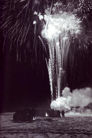 fireworks+beach.jpg (image) #photography #fireworks