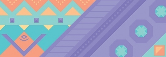 illustrations on the Behance Network #pattern #geometric #dale #illustration #tyler