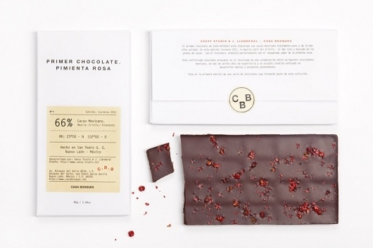 CBB01 #white #packaging #clean #simple #chocolate #info